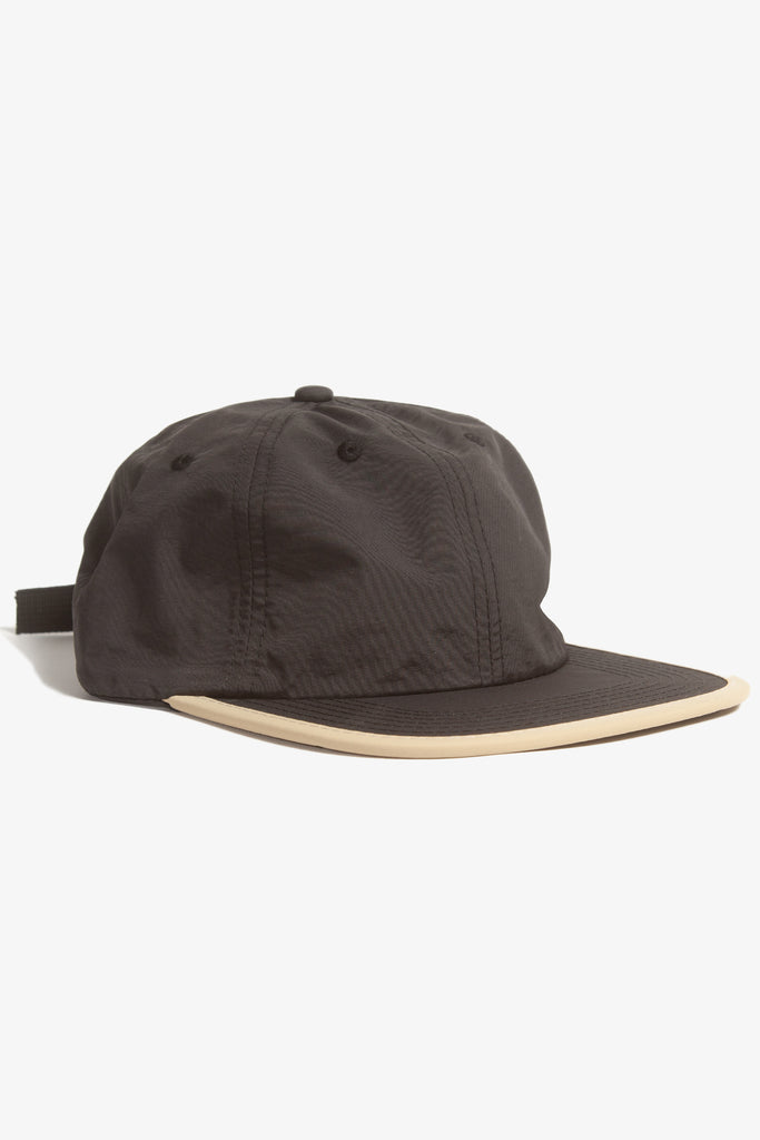 Power House - Perfect Nylon 6-Panel Cap - Black/Beige