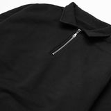 Blacksmith - Cross-Grain Staple 1/4 Zip - Black