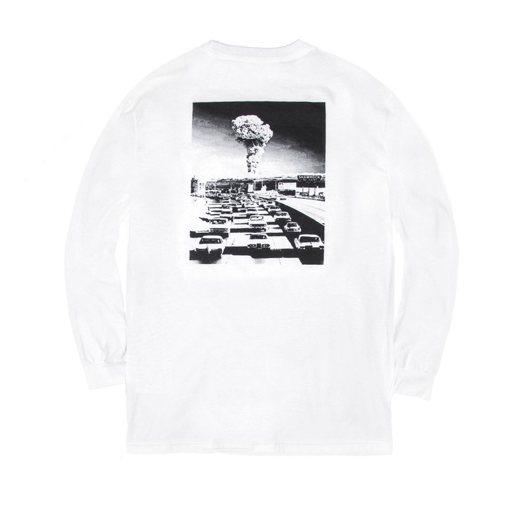 Blacksmith - Asylum L/S Tee - White