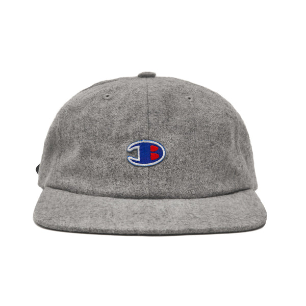 Blacksmith B 6-Panel Cap - Grey