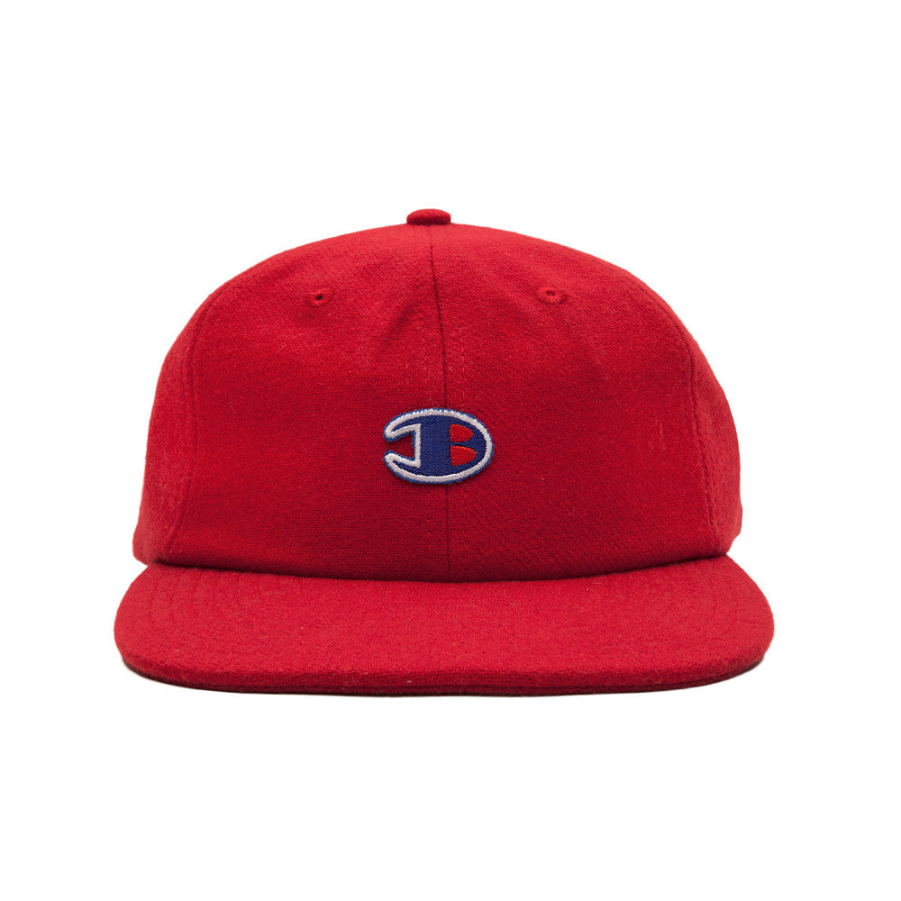 Blacksmith B 6-Panel Cap - Red