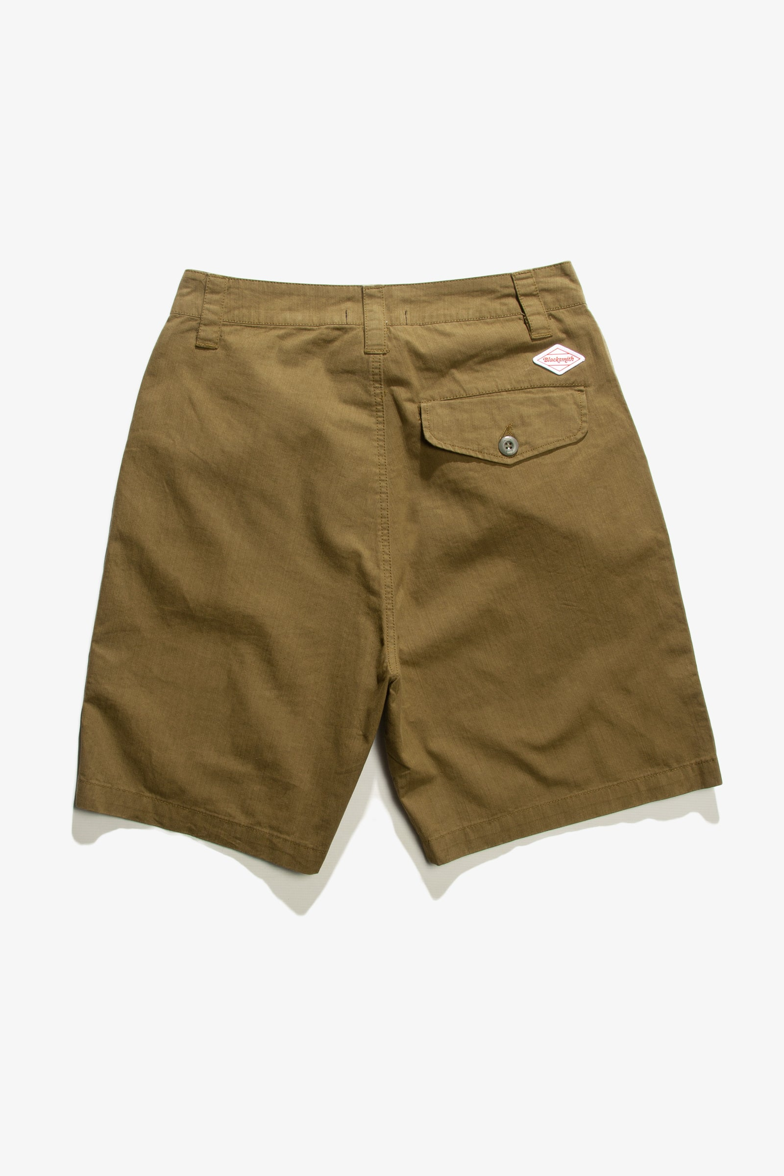 Blacksmith - Sateen Camping Shorts - Olive