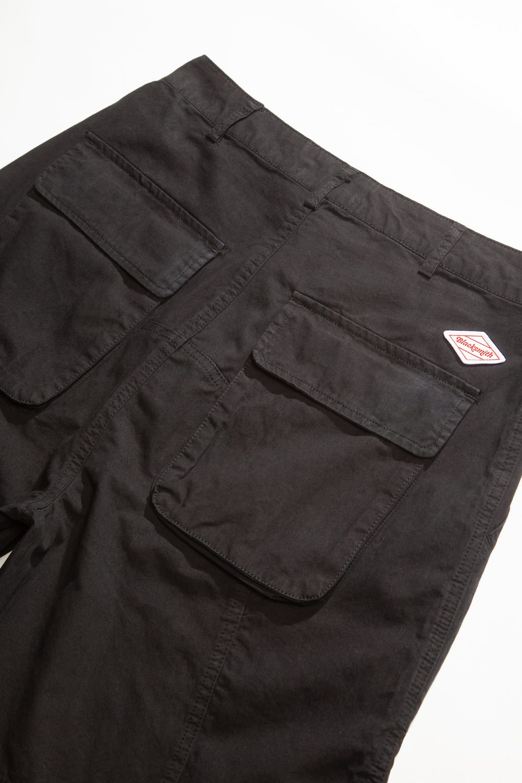 Blacksmith - Sateen Fatigue Shorts - Black