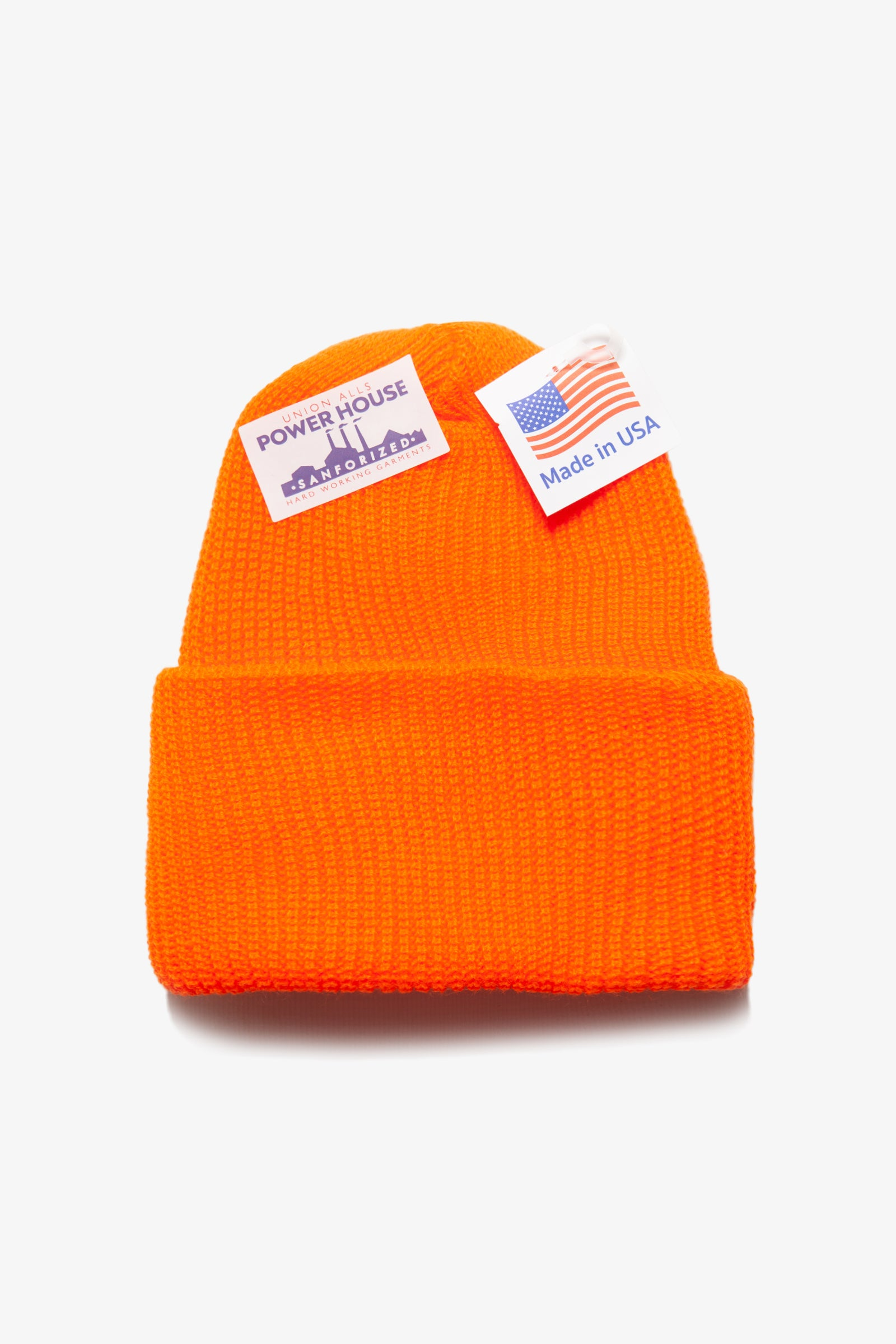 Power House - Watch Cap Beanie - Blaze Orange