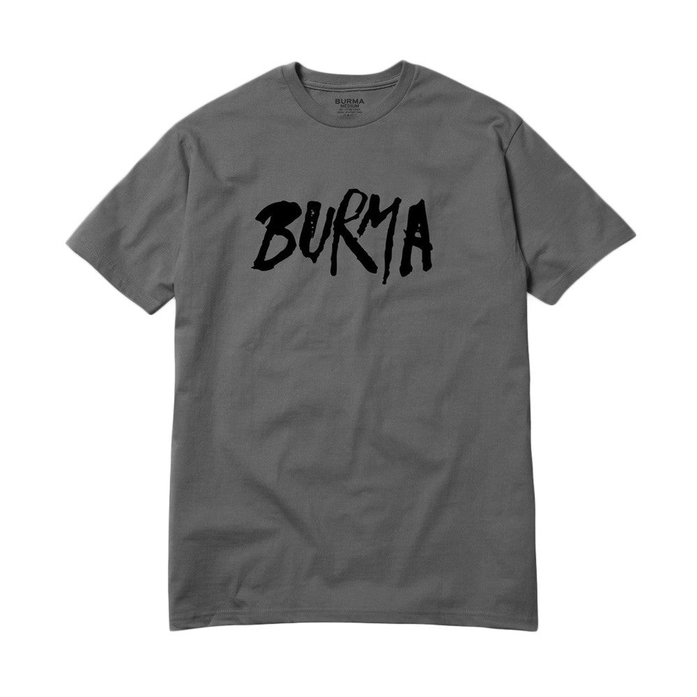 Burma MFG - No Sympathy T-Shirt - Charcoal