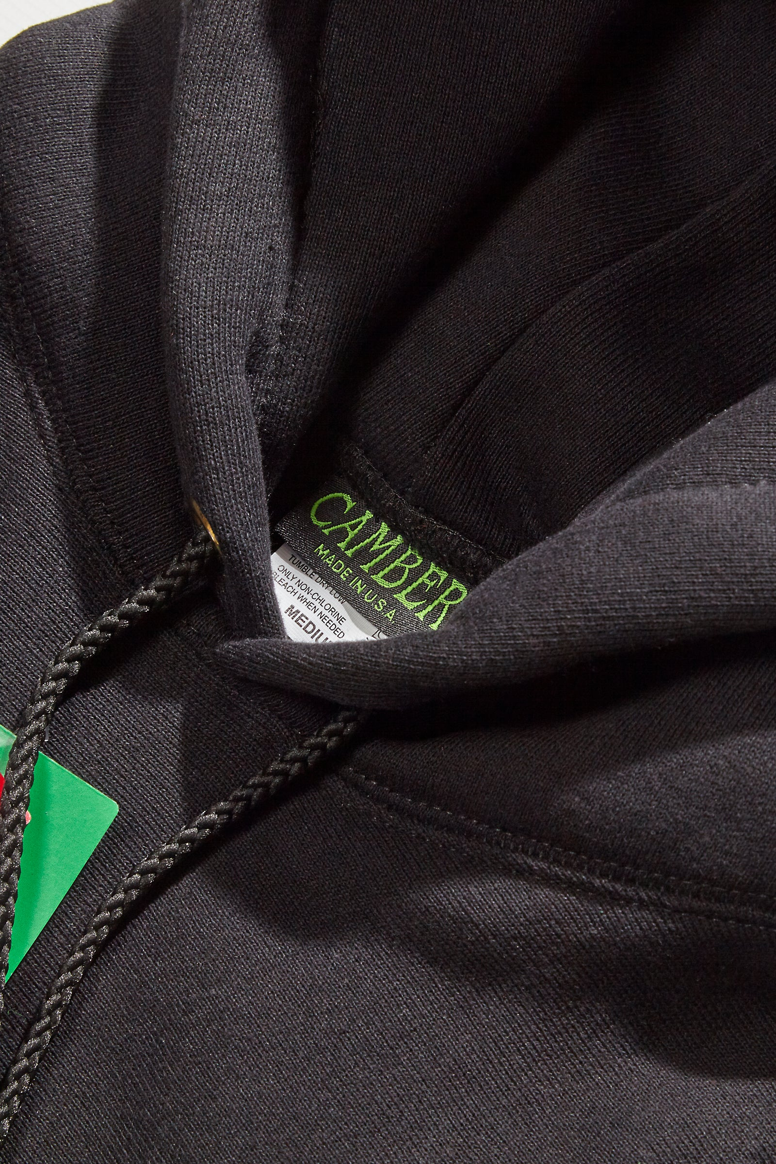 Camber USA - 232 12oz Pullover Hoodie - Black