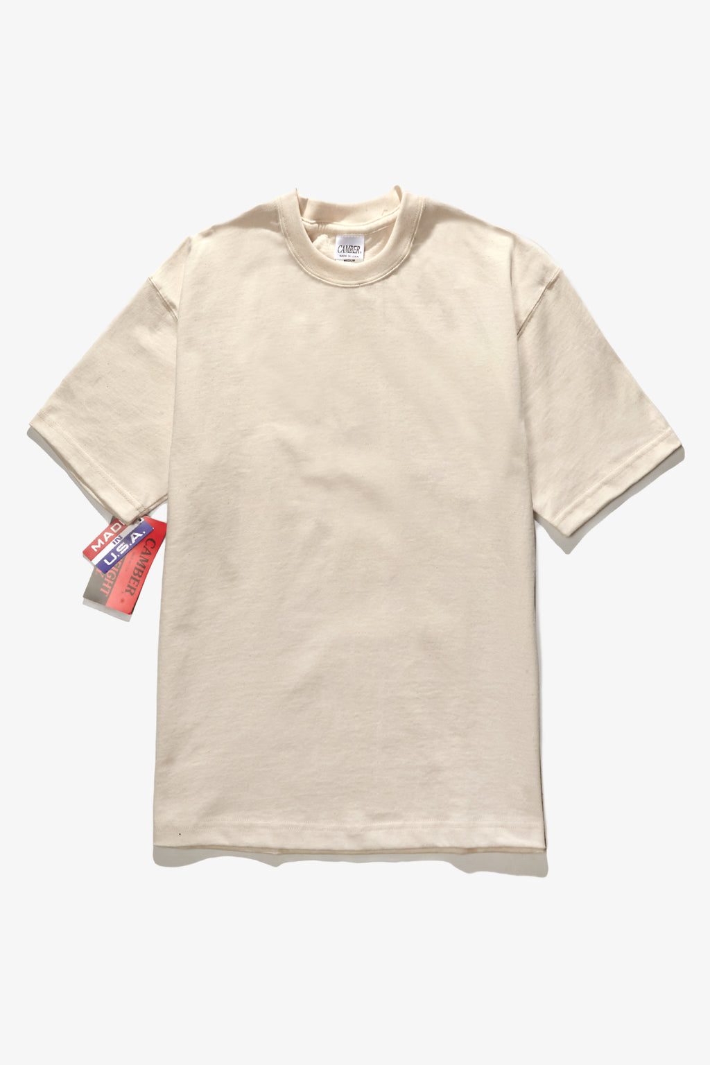 Camber USA - 301 8oz Tee - Natural