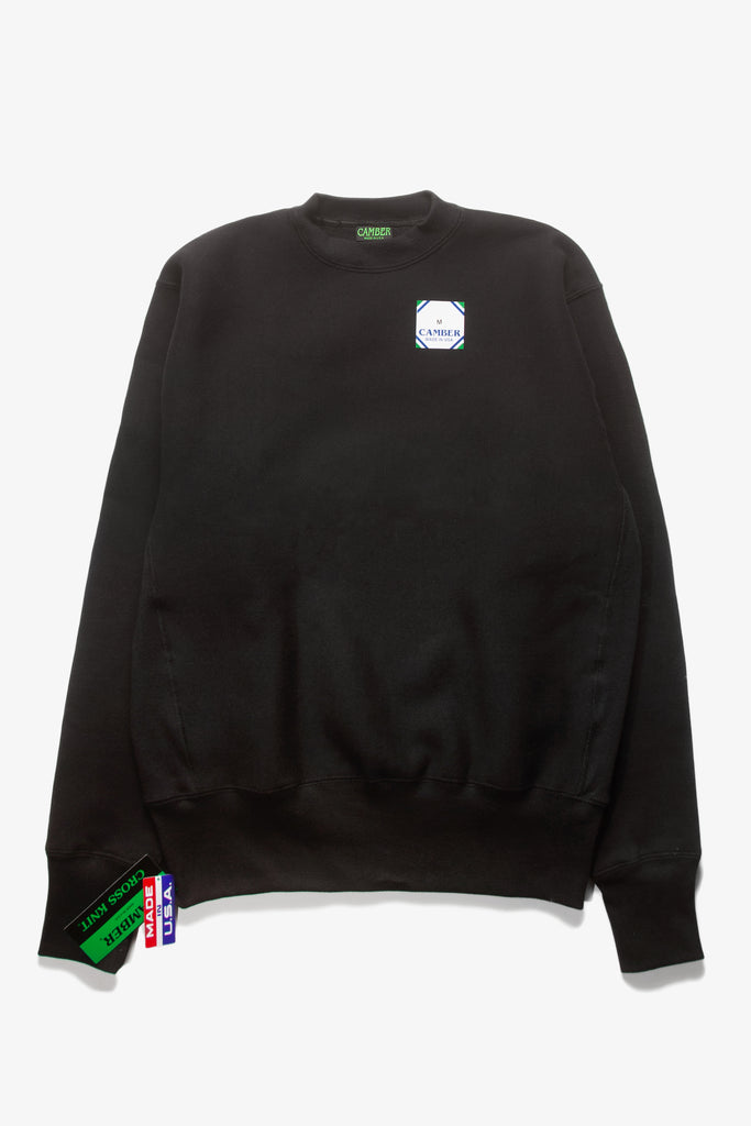 Camber USA - 234 12oz Crewneck - Black