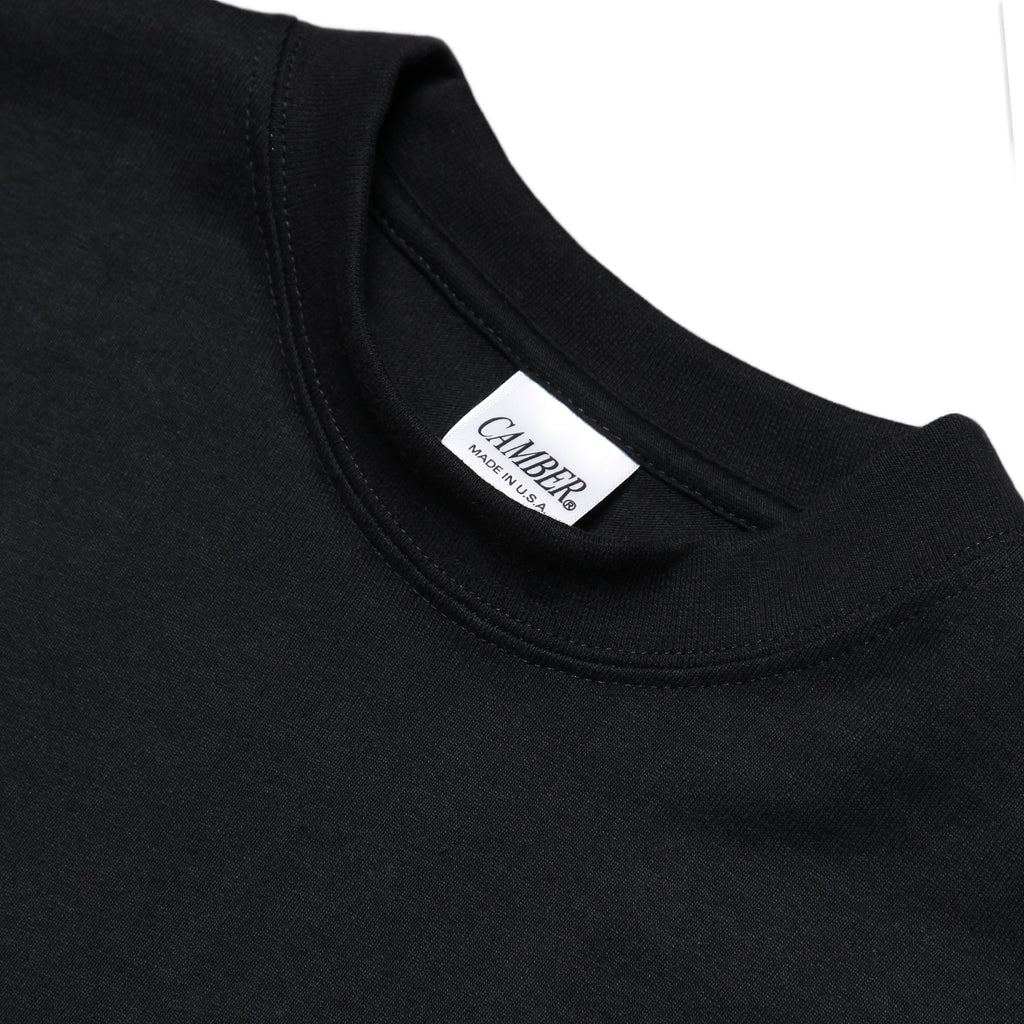 Camber USA - 305 Long Sleeve 8oz Tee - Black