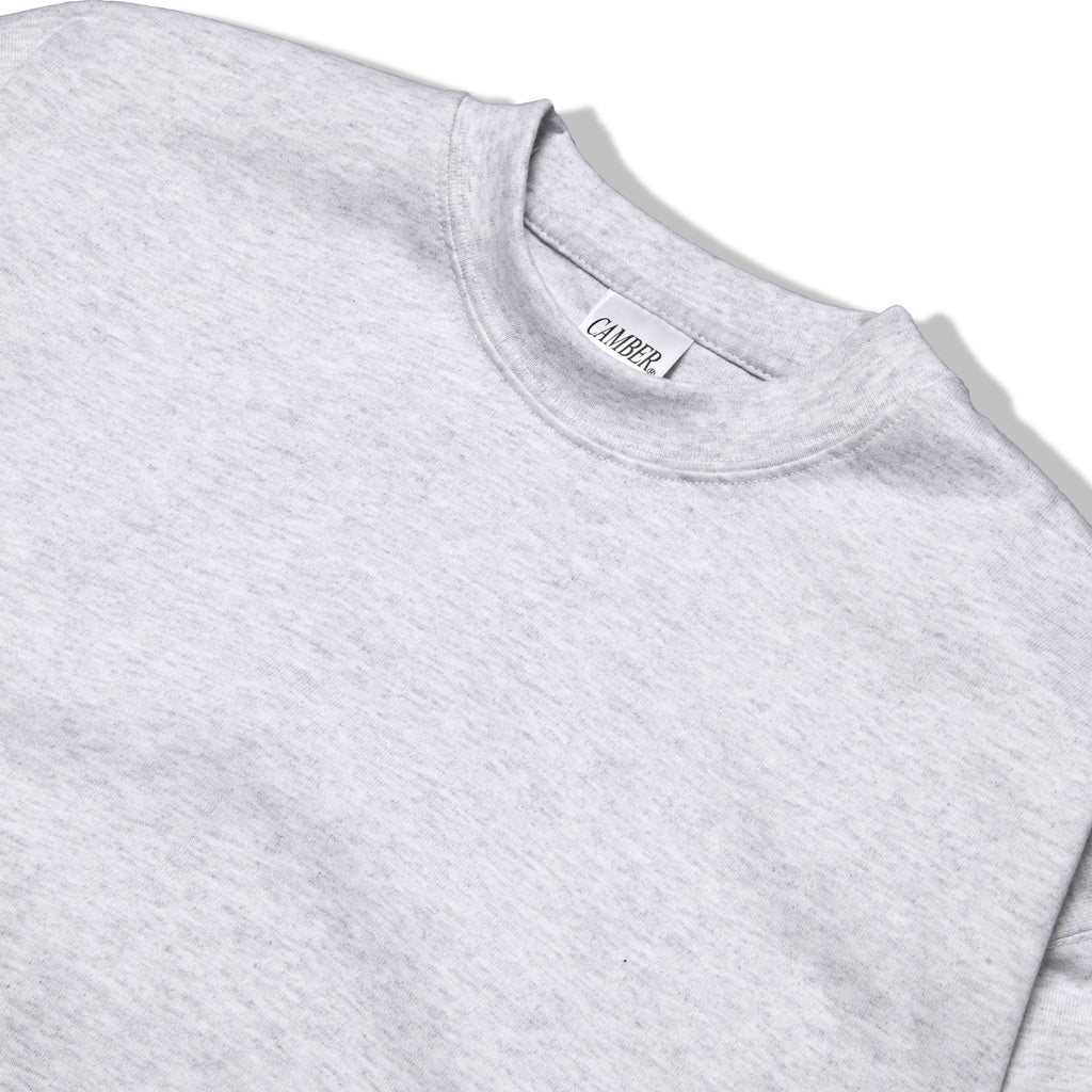 Camber USA - 305 Long Sleeve 8oz Tee - Ash Grey