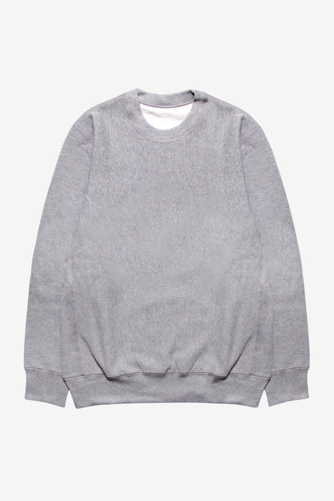 Blacksmith - Cross-Grain Staple Crewneck - Grey