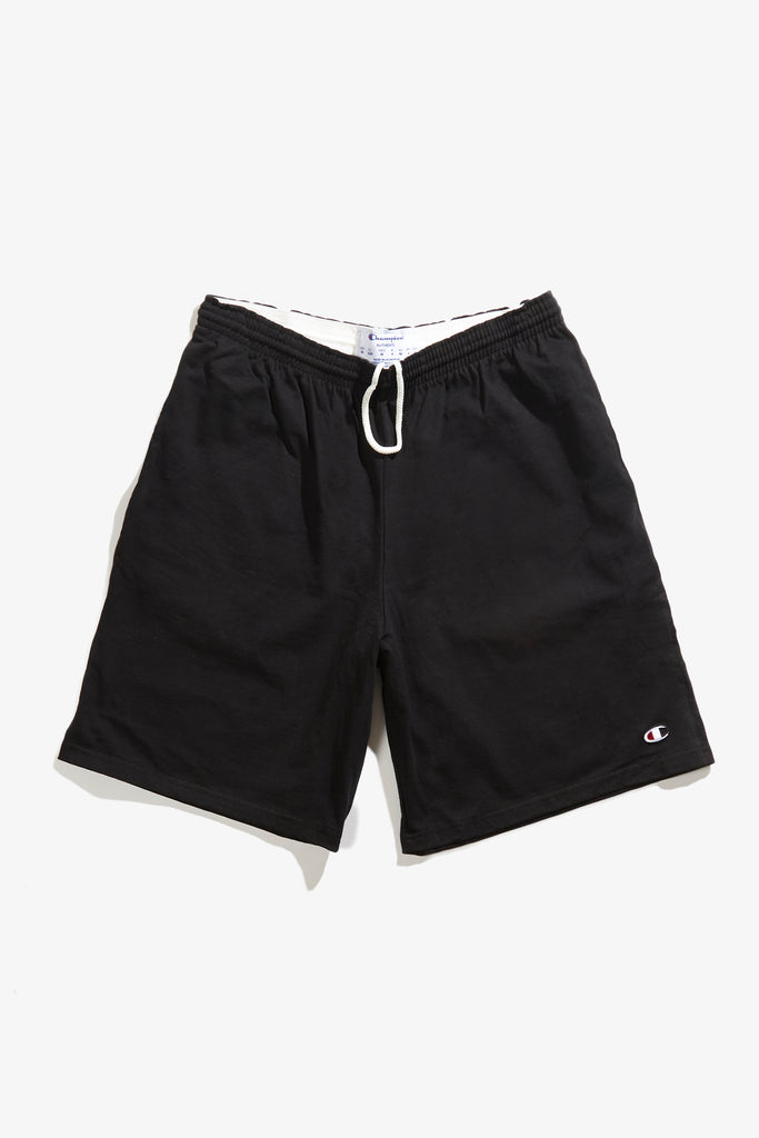 Champion - 8oz Cotton Gym Shorts - Black