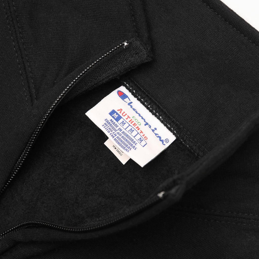 Champion - 9oz Quarter Zip - Black