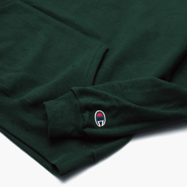 Champion - 9oz Hoodie - Forest Green
