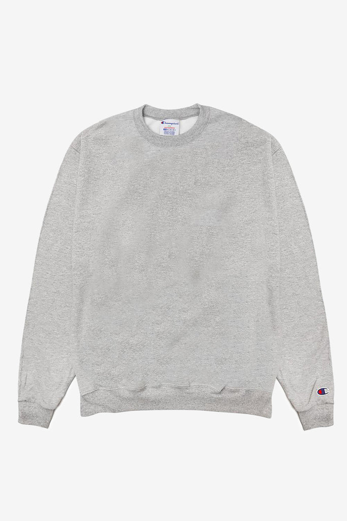 Champion - 9oz Crewneck - Heather Grey