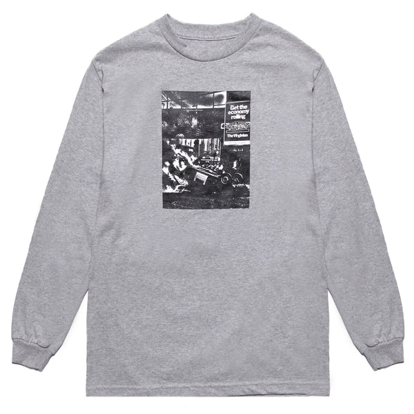Blacksmith - Compliments LS Tee - Grey