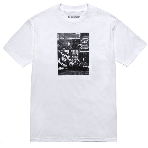 Blacksmith - Compliments Tee - White