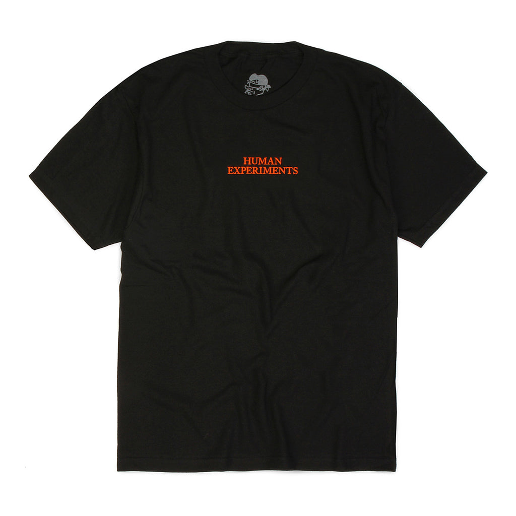 Come Sundown - Human Experiments T-Shirt - Black