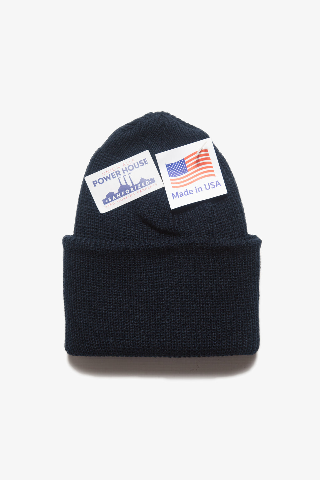 Power House - Watch Cap Beanie - Dark Navy