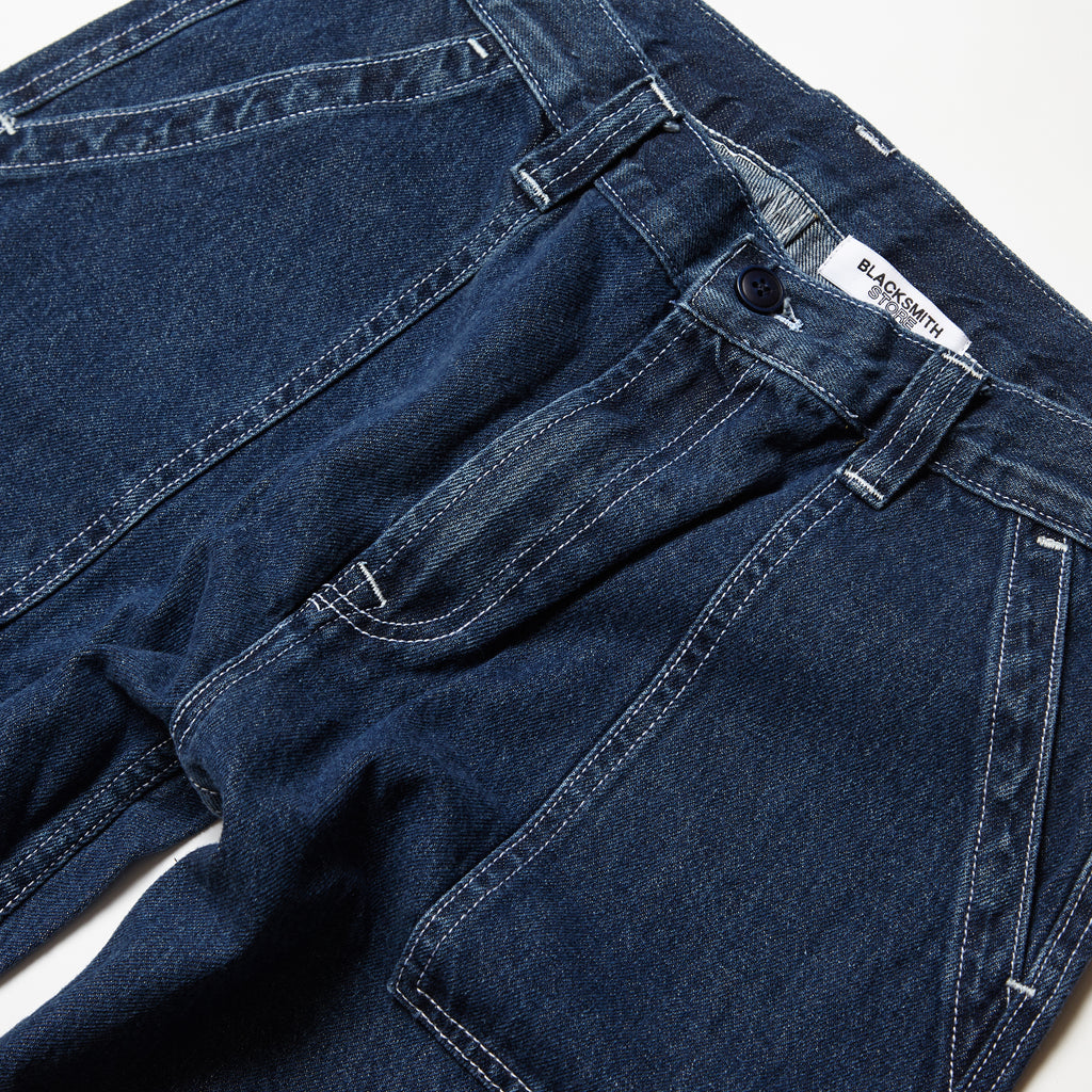 Blacksmith - Denim Fatigue Pants - Indigo