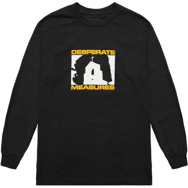 Blacksmith - Desperate Measures L/S Tee - Black