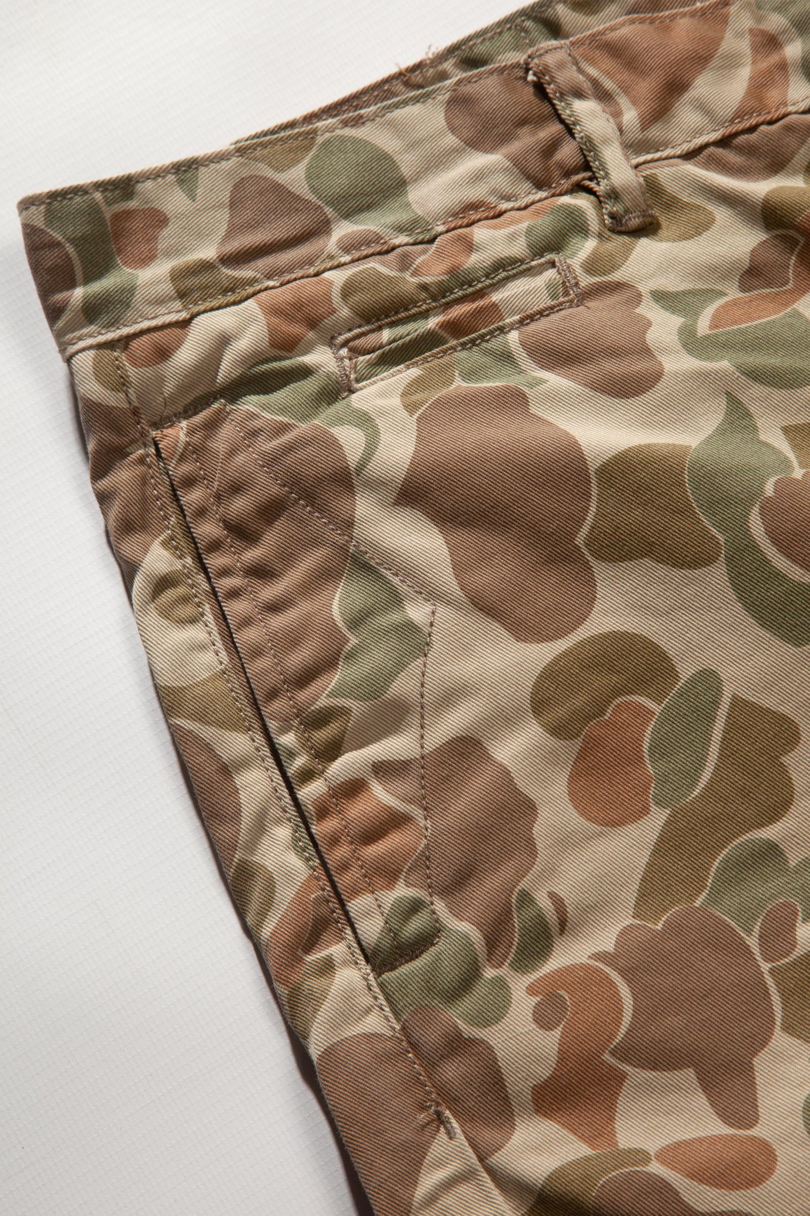 Red Ruggison - Standard Issue Shorts - Duck Camo