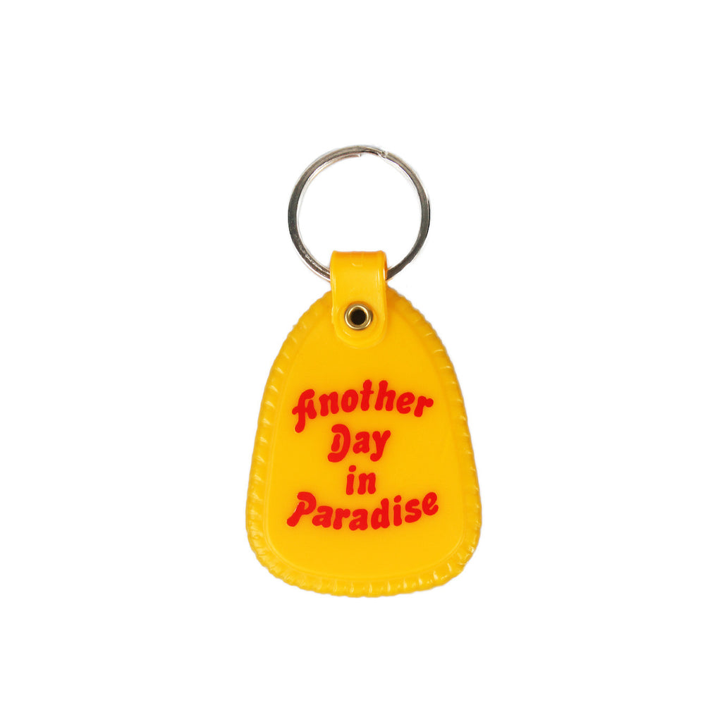 Explorers Press - Another Day In Paradise Keychain