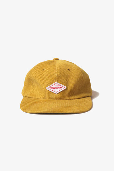 Blacksmith - Corduroy Everyday Cap - Mustard