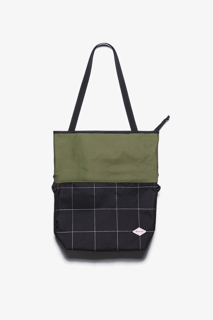 Blacksmith - 3 Way Tote - Fern/Black