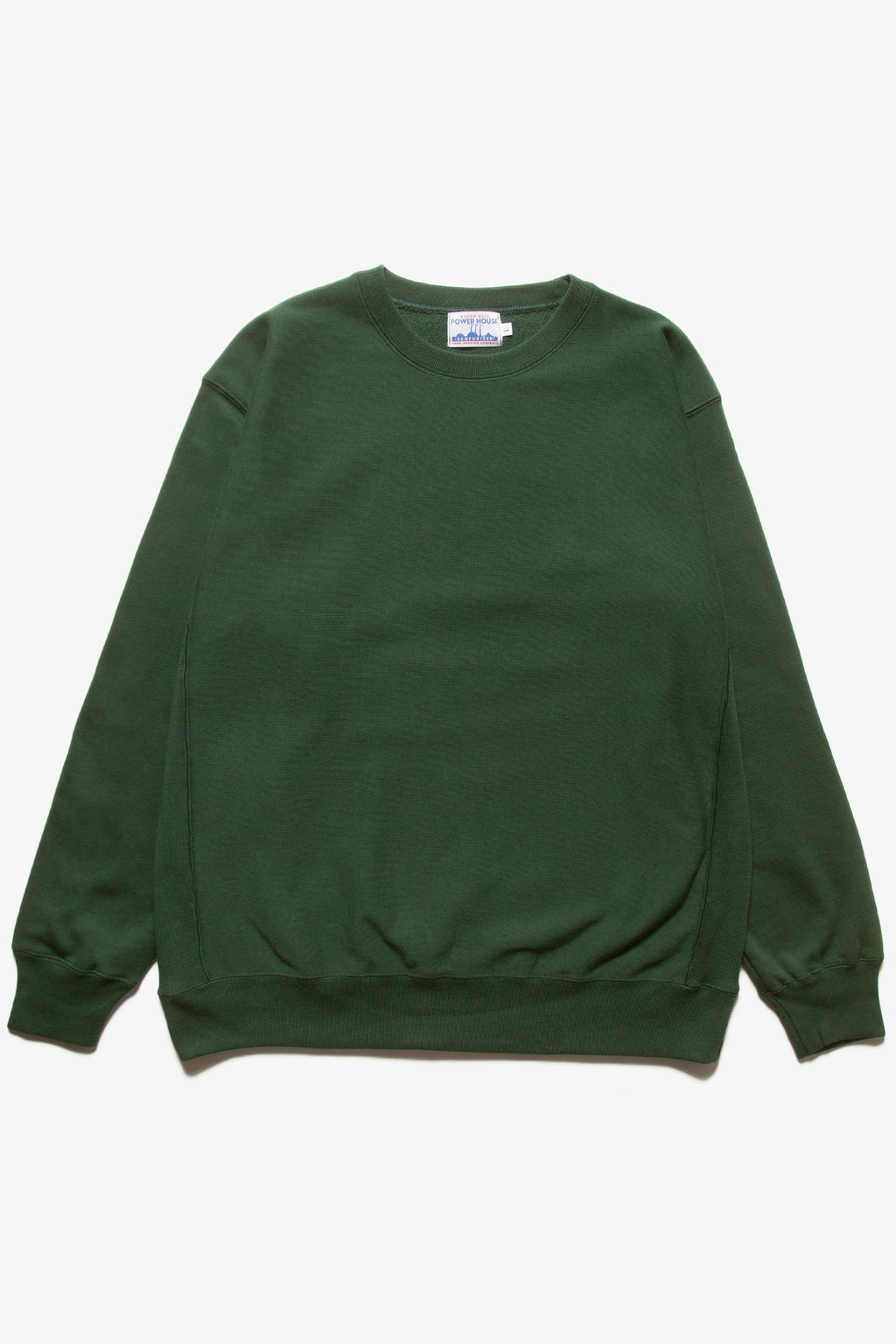 Power House - 12oz Crewneck - Forest Green