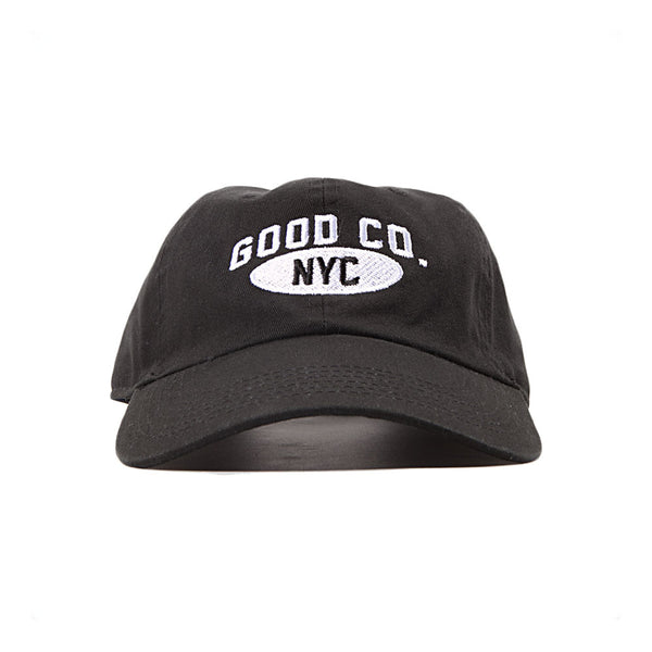 The Good Company - Athletic Dad Cap - Black