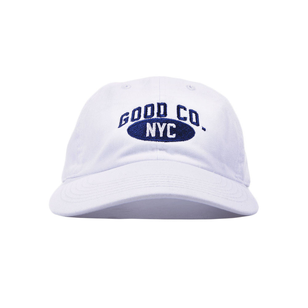 The Good Company - Athletic Dad Cap - White