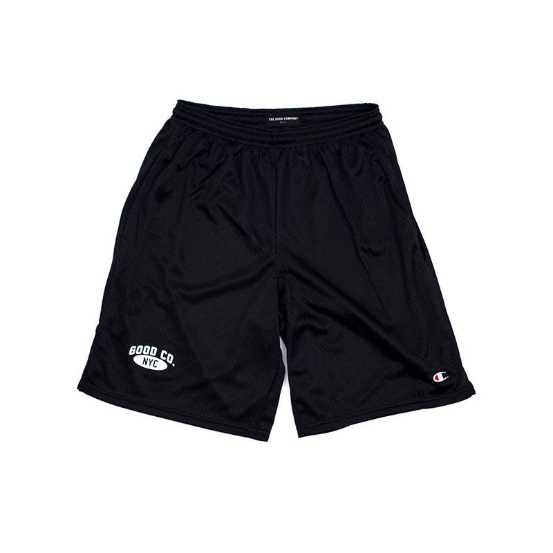 The Good Company - Champion® Mesh Shorts - Black