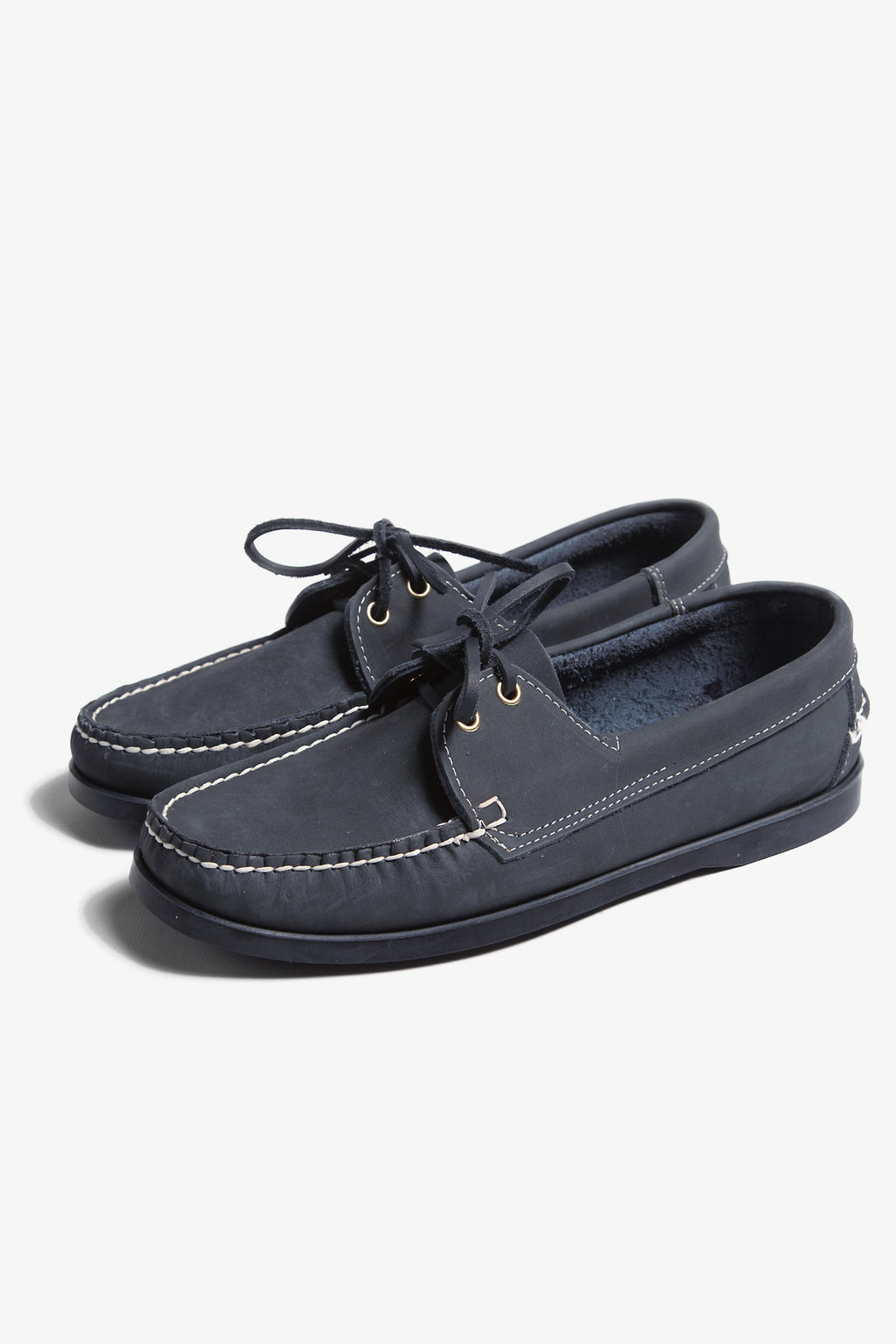 Goodcamp - Deck Loafer Shoes - Navy Blue