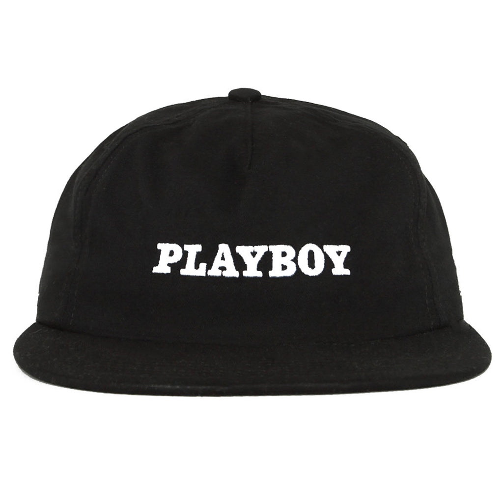 Good Worth & Co - Playboy Logo Cap - Black