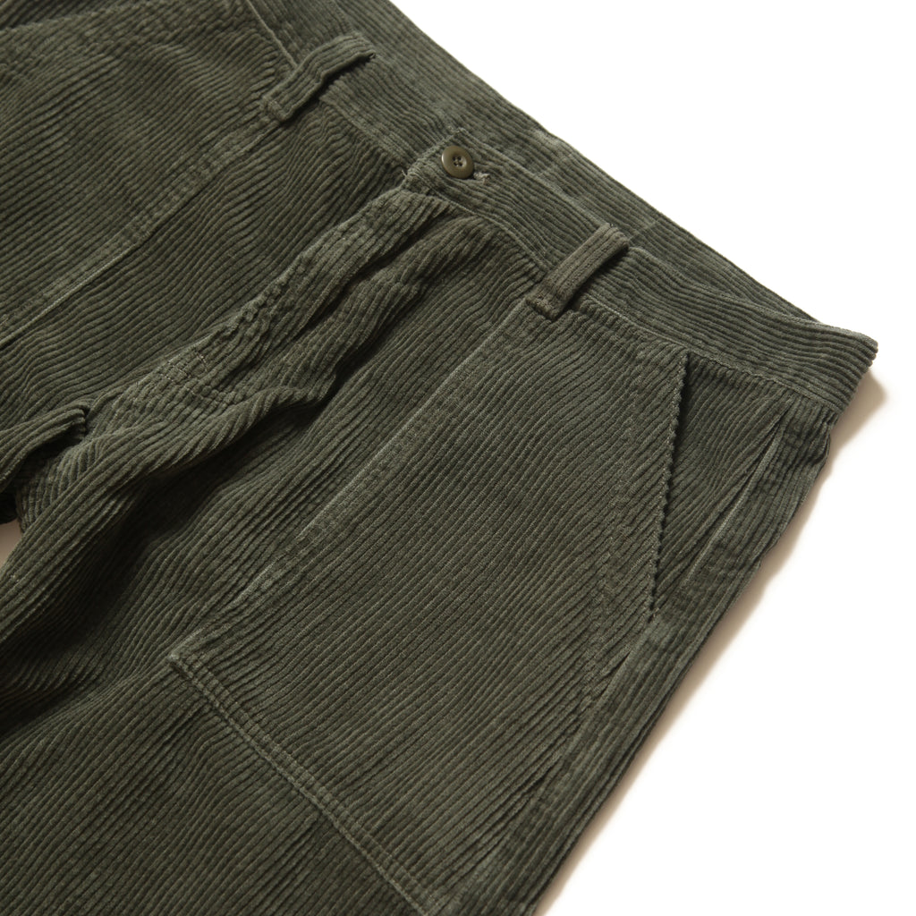 Blacksmith - Cord Fatigue Pants - Olive