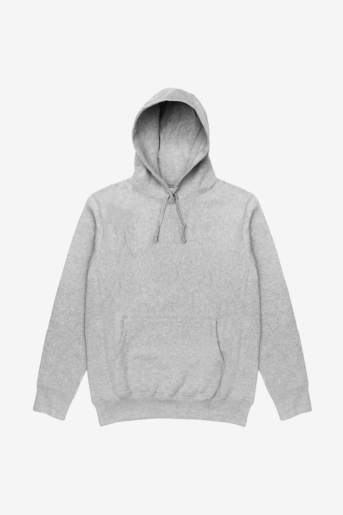 Blacksmith - Cross-Grain Staple Hoodie - Grey