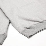 Blacksmith - Cross-Grain Staple 1/4 Zip - Grey