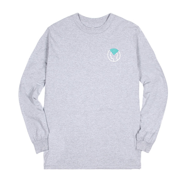 H2H X Blacksmith - Mind Long Sleeve Tee - Grey