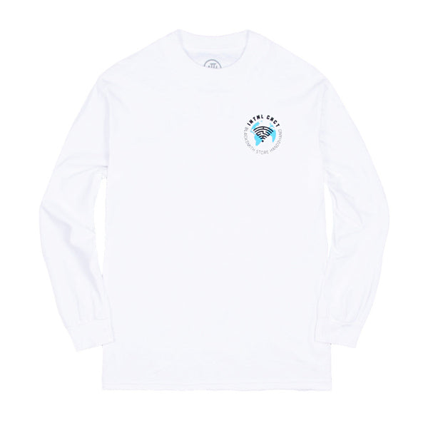 H2H X Blacksmith - INTNL CNCT Long Sleeve Tee - White