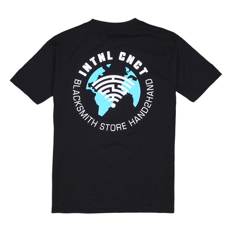 H2H X Blacksmith - INTNL CNCT Tee - Black