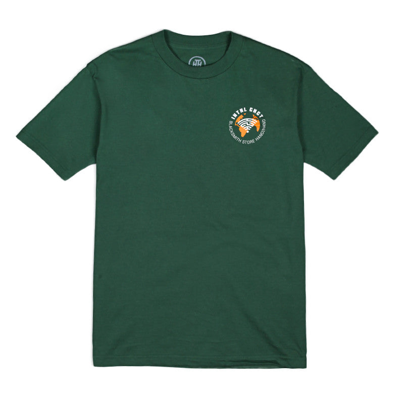 H2H X Blacksmith - INTNL CNCT Tee - Forest Green