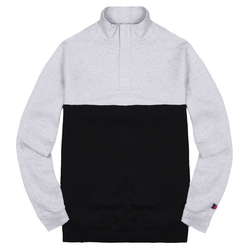 Blacksmith - Binary Quarter Zip - Grey/Black