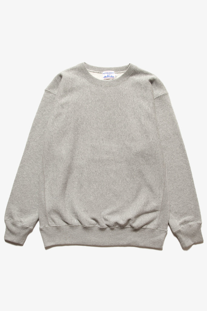 Power House - 12oz Crewneck - Heather Grey