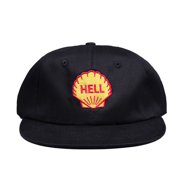 Blacksmith - Hell 6 Panel Cap - Black