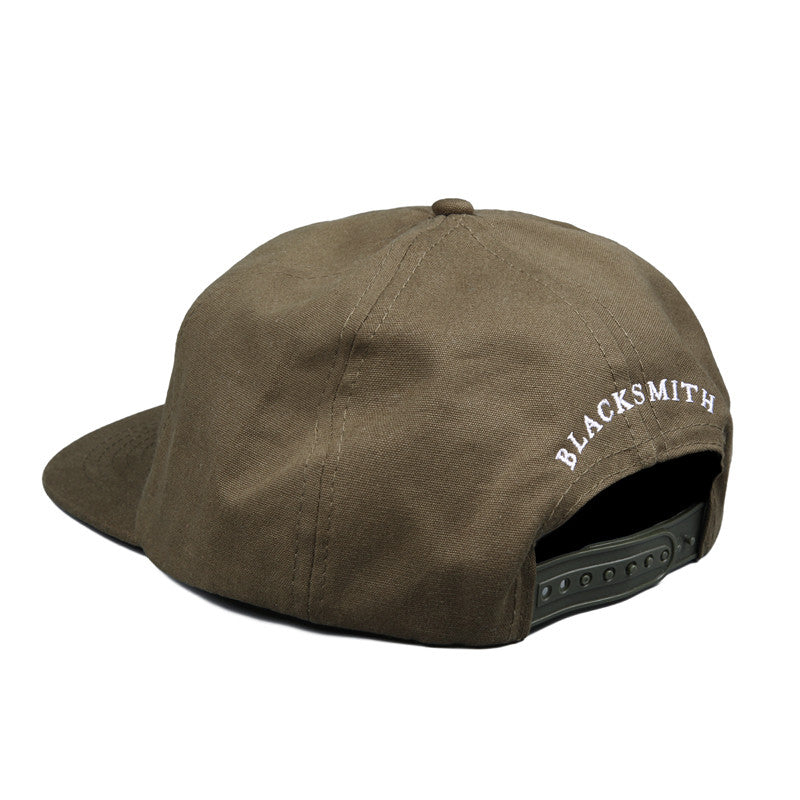 Blacksmith - Hell 5 Panel Cap - Military Olive