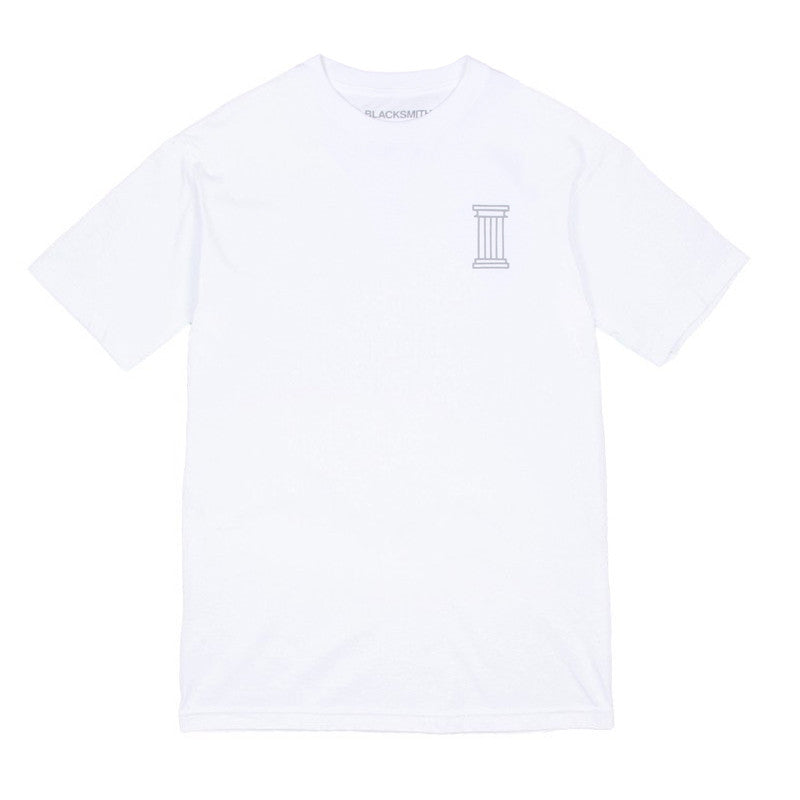 Blacksmith - Immortal Tee - White