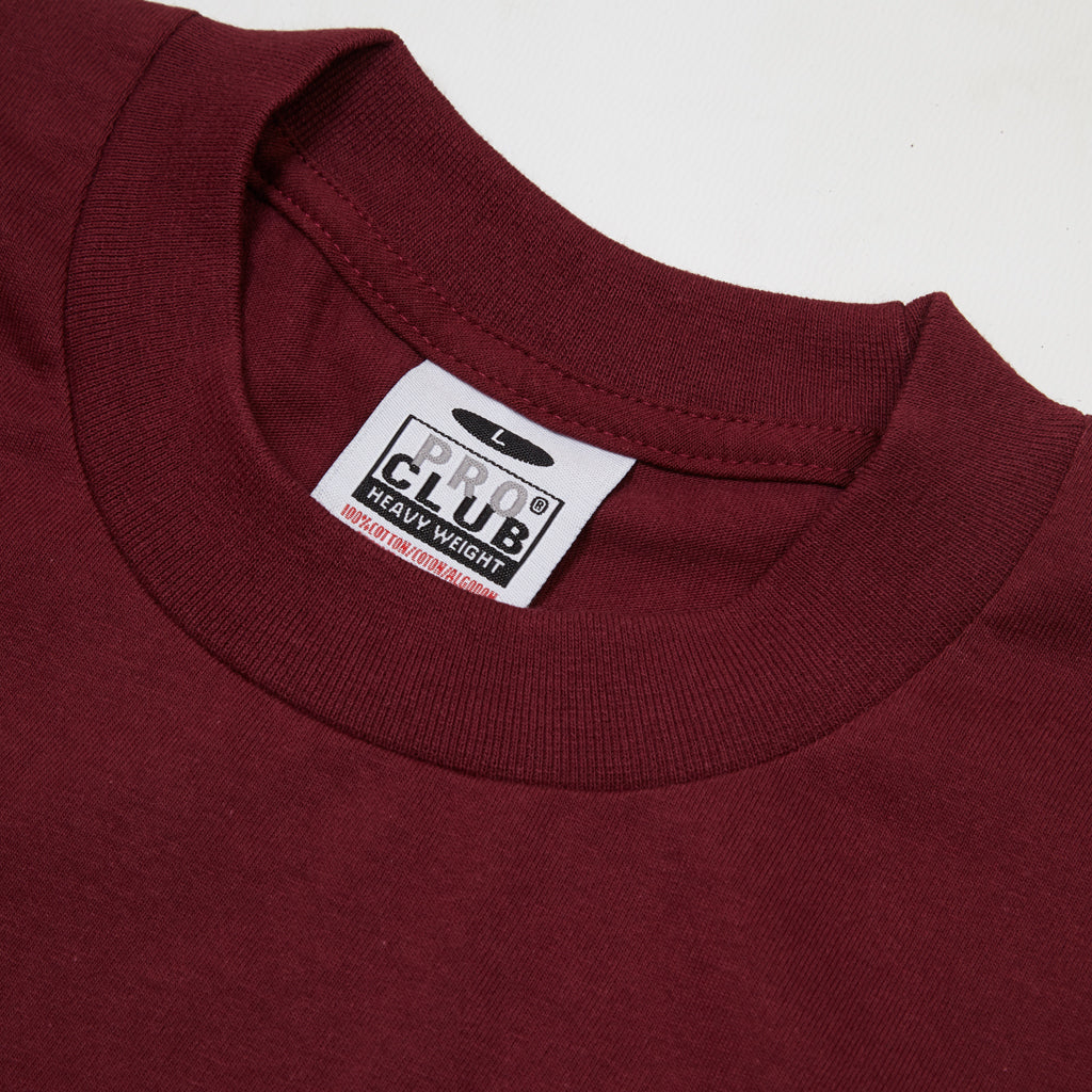 Pro Club - Heavyweight T-Shirt - Maroon