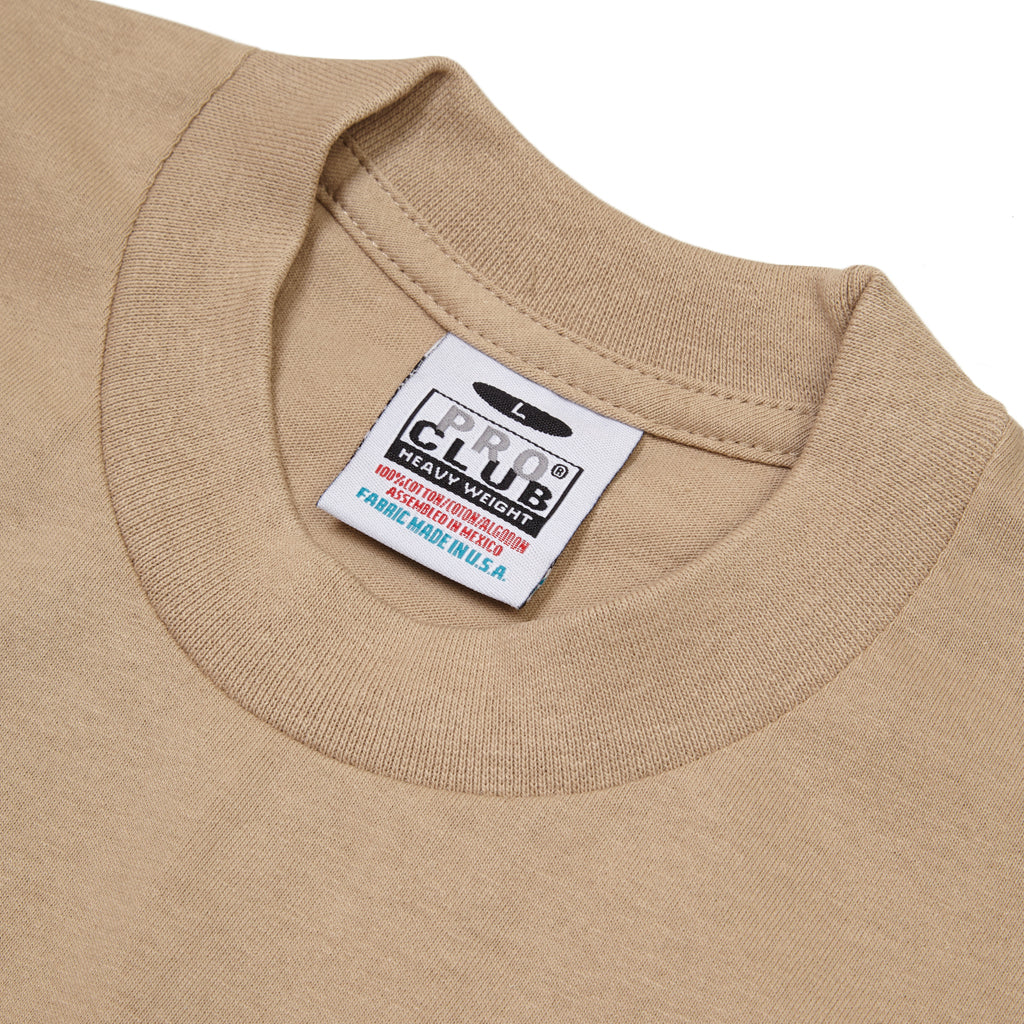 Pro Club - Heavyweight T-Shirt - Khaki