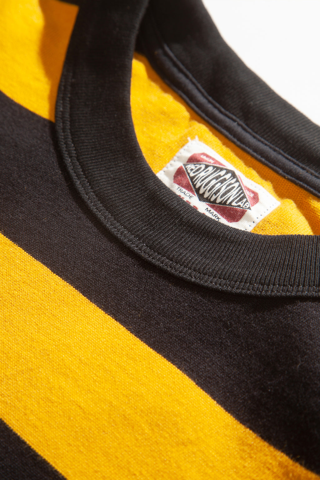Red Ruggison - Border Long Sleeve T-Shirt - Yellow/Black